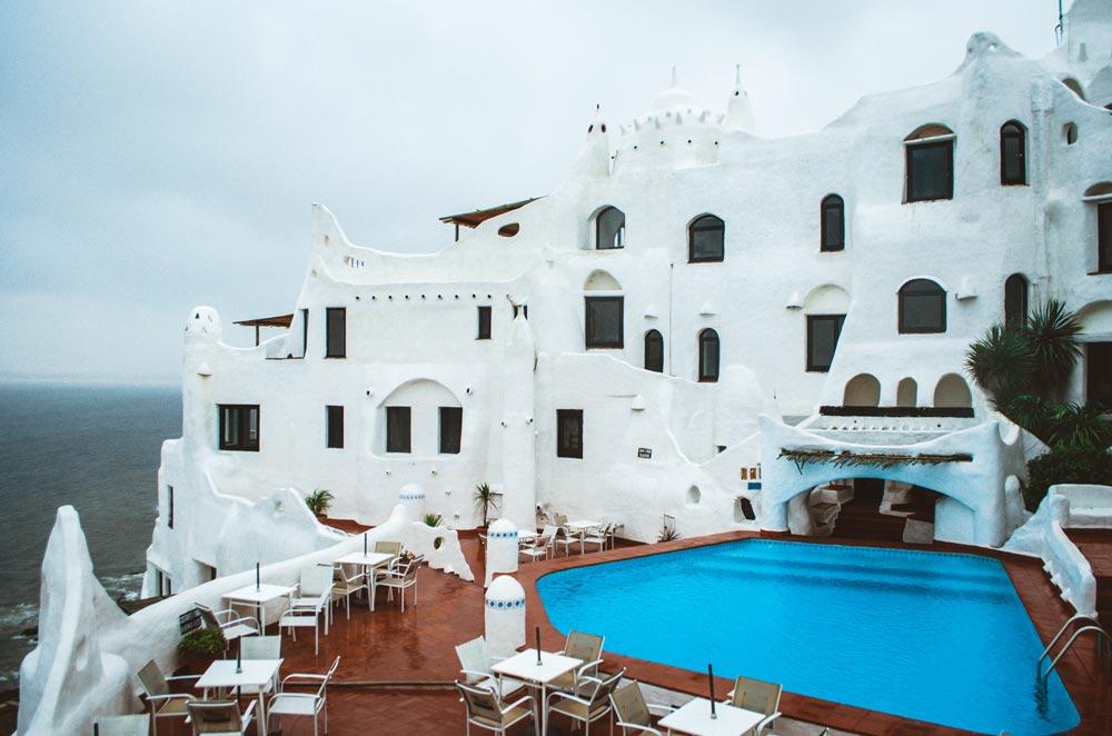 Das Wunderwerk Casa Pueblo bei Punta del Este